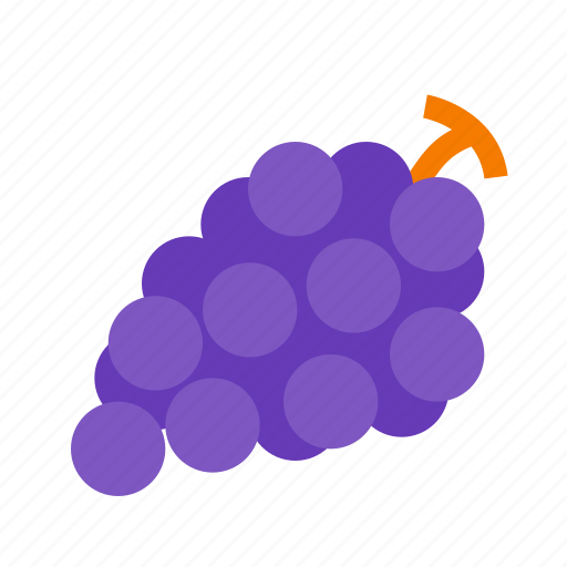 fruit, grape, grapes, wine icon