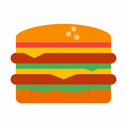 Hamburger, burger, food, junk, cheeseburger, fastfood, snack icon - Download on Iconfinder
