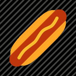 fast, food, hot, hotdog, sausage icon