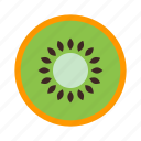 dessert, food, fresh, fruit, healthy, kiwi, sweet icon