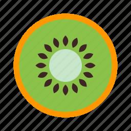fresh, fruit, kiwi, sweet icon