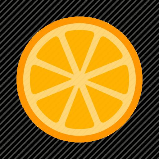 citrus, fruit, orange icon