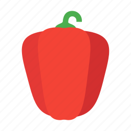 capsicum, food, healthy, organic, paprika, pepper, vegetable icon