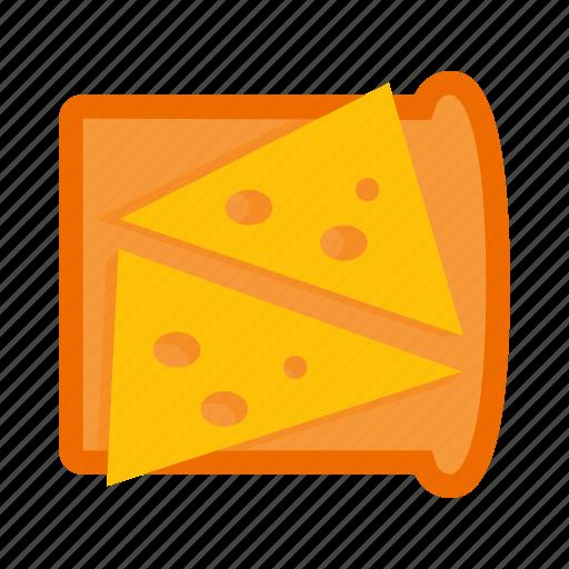 bread, breakfast, cheese, fast, food, gastronomy, sandwich icon