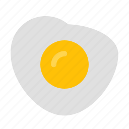 breakfast, cooking, egg, eggs, food, fried, scrambled icon