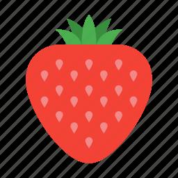 berry, dessert, food, healthy, strawberry, sweet, vegan icon