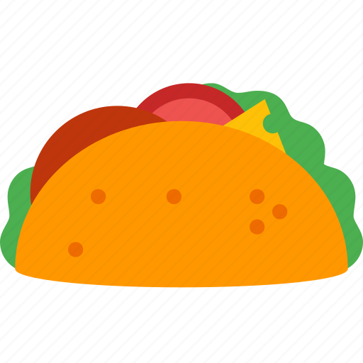 fast, food, latina, meal, mexica, mexican, taco icon