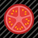 tomato, vegetable, healthy, cooking, food, slice, vegetarian