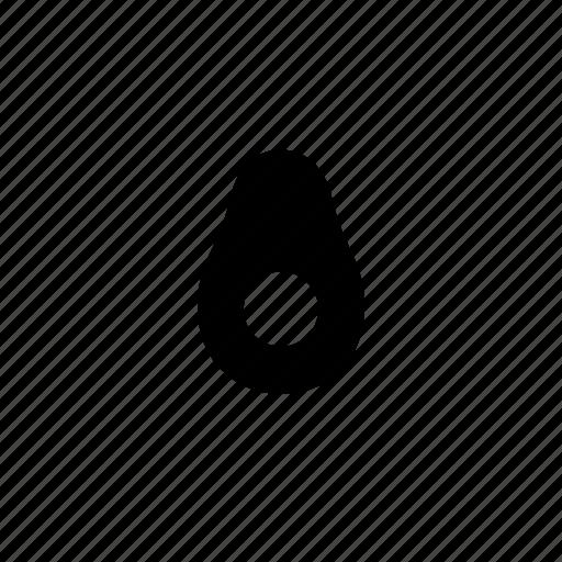 avocado, food icon