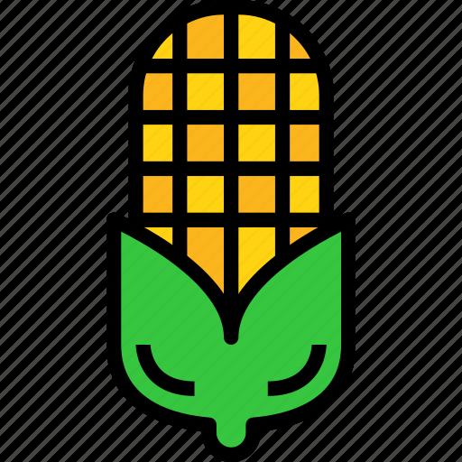 corn, food, vegetable icon