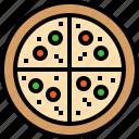 food, pizza
