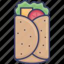 boriito, fast, food, meal, restaurant, sandwich