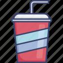 beverage, container, drink, food, milkshake, soda