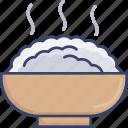 bowl, dinner, food, meal, restaurant, rice