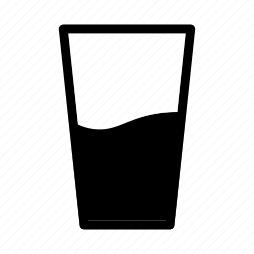 and, beverage, drink, food, glass, healthy, water icon
