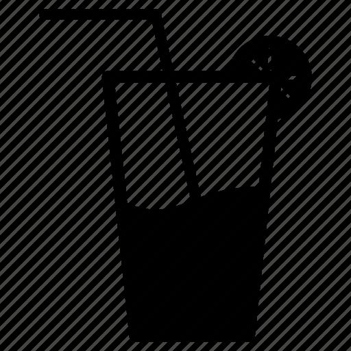 beverage, drink, food, fresh, lemon, lemonade, water icon