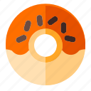beverage, cooking, donut, food, meal, restaurant, sweet icon