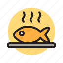 fish, meat, food, meal, restaurant