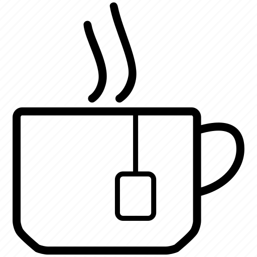 bag, beverage, cup, drink, tea icon