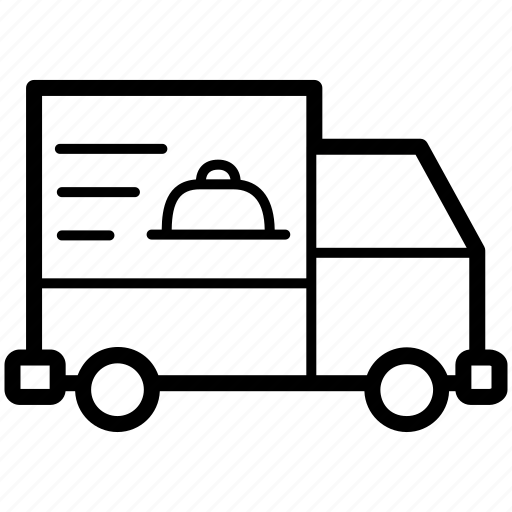 delivery, food, order, transport, truck icon