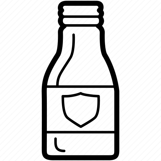bottle, glass, plastic, recyclables, soda icon