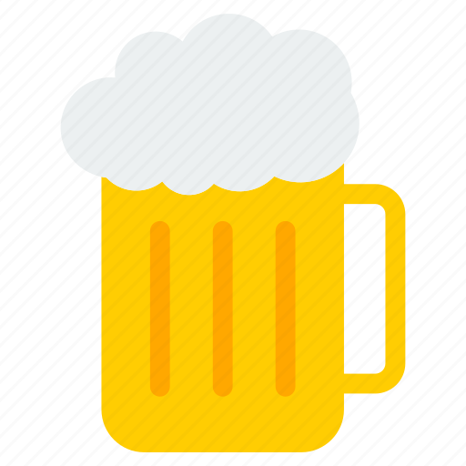 alcohol, beer, bottle, brewery, drink, food, glass icon