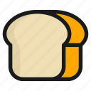 beverage, bread, breakfast, cooking, food, kitchen, meal icon
