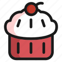 cake, cooking, dessert, food, meal, restaurant, sweet icon