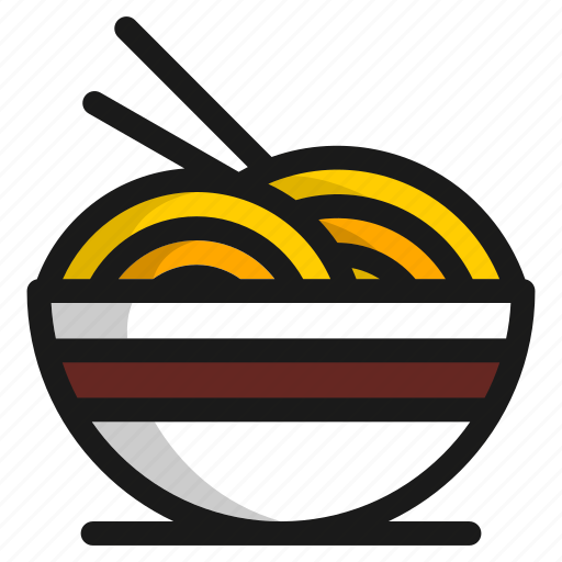 cooking, food, healthy, kitchen, noodle, restaurant, vegetable icon
