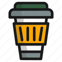 bottle, coffee, cup, drink, food, glass, ice icon