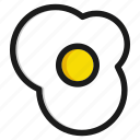 cook, cooking, egg, food, healthy, kitchen, meal icon
