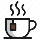 coffee, cup, drink, food, hot, sweet, tea icon