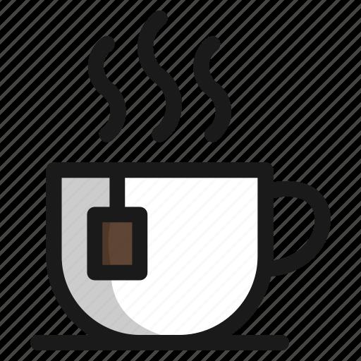 coffee, cup, drink, food, hot, sweet, tea icon