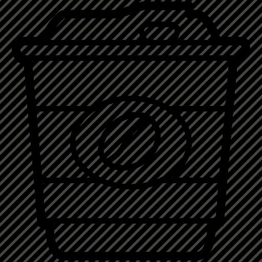 beverage, coffee, cup, drink, foam, mug icon