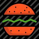 beefburger, burger, fast, hamburg, hamburger icon