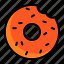 cake, donut, doughnut, food