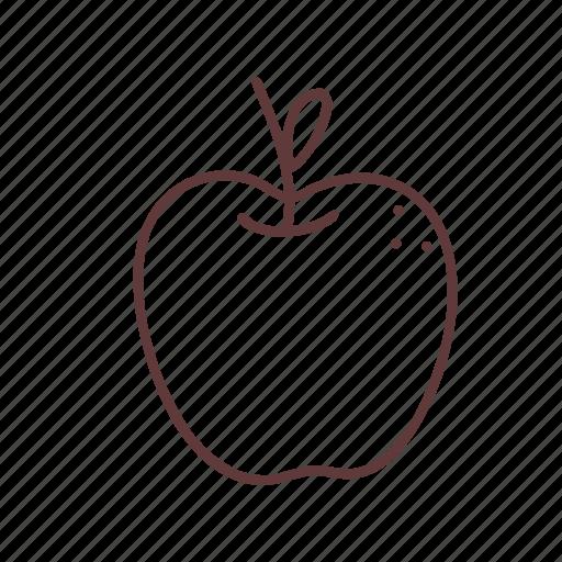 Apple, diet, food, fruit, healthy, juice, vegetarian icon - Download on Iconfinder