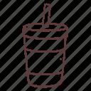 caffeine, coffee, drink, fastfood, food, restaurant, water icon