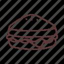 breakfast, cooking, fastfood, food, ham, restaurant, sandwich icon