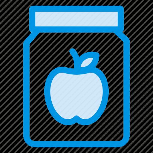 apple, applejam, breakfast, eat, food, fruit icon