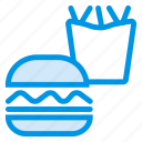 burger, fastfood, french, fries icon