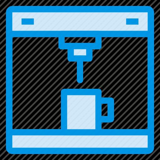 cafe, coffee, kitchen, machine, maker icon