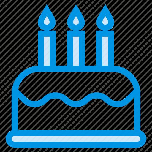 cake, dessert, food, party icon