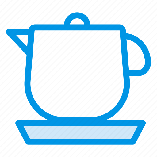 coffee, cooking, drink, food, kettle, teapot icon