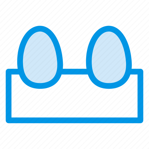 chicken, eggs, food, omelet icon