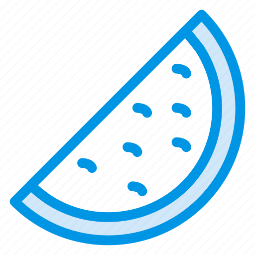 food, fruits, healthy, melon, water icon
