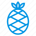 food, fruit, healthy, juice, pineapple icon