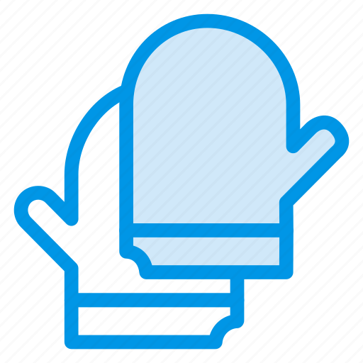cleaning, gloves, hand, restaurant icon