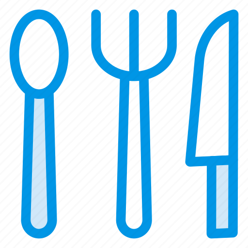 fork, hotel, knife, service, spoon icon