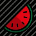 drink, food, juice, water melon